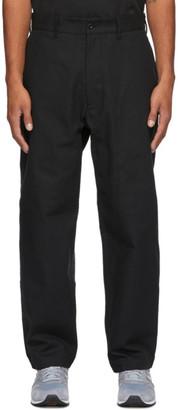 4SDESIGNS Black Herringbone Everyday Trousers