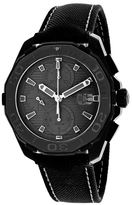 Tag Heuer Aquaracer CAY218B.FC6370 Men's Black Titanium Automatic Chronograph Watch