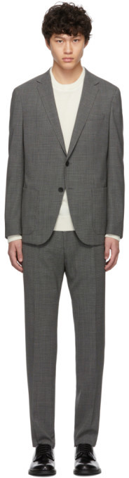 HUGO BOSS Boss Grey Nolin2 Brider Suit