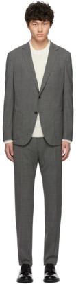 BOSS Grey Nolin2 Brider Suit