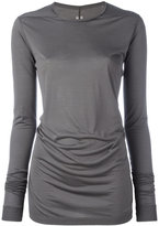 Rick Owens long sleeve T-shirt - women - Silk - 38