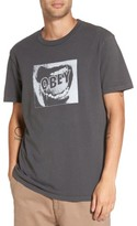 Obey Men's Screamer Graphic T-Shirt