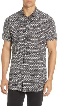 Selected Vega Slim Fit Short Sleeve Button-Up Shirt