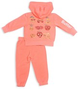 Butter Shoes Girls' Hoodie & Joggers Set - Baby