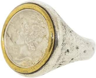 John Varvatos Mercury Dime Ring