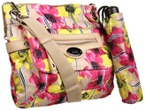 Tyler Rodan Simple Crossbody (Floral Stripe Print) - Bags and Luggage