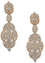 Nina Openwork Statement Chandelier Earrings