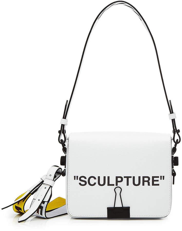Off-White Sculpture Leather Shoulder Bag