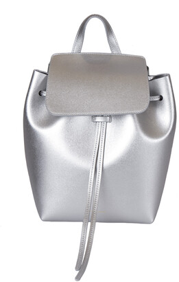 Mansur Gavriel Siler/Aregnto Leather Backpack