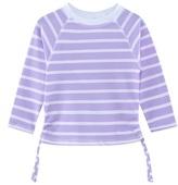 Snapper Rock Purple Stripe Long Sleeve UPF 50+ Rash Top