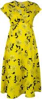 P.A.R.O.S.H. floral print dress - women - Silk/Spandex/Elastane - S