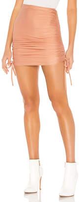 superdown Missie Ruched Mini Skirt