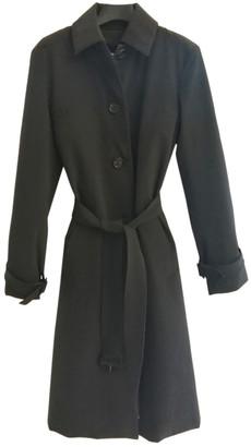 Prada Grey Polyester Trench coats
