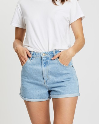 ROLLA'S Women's Blue Denim - Dusters Shorts - Size 25 at The Iconic