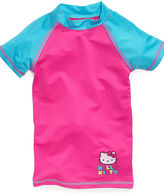 Hello Kitty Kids Swimwear, Girls Rash Guard Top