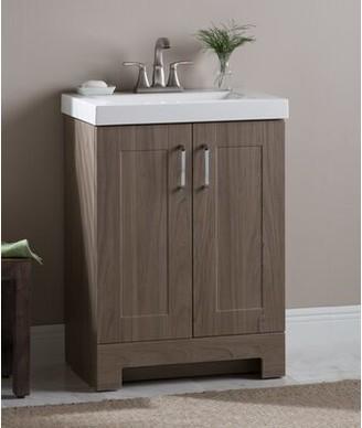"""Zipcode Designâ""""¢ Nels 25"""" Single Bathroom Vanity Set Zipcode Designa"""