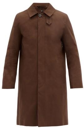 MACKINTOSH Dunkeld Wool-lined Cotton Coat - Brown