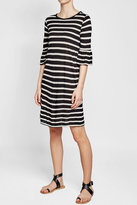 Velvet Andena Striped Dress with Cotton
