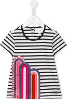 Burberry striped T-shirt - kids - Cotton - 6 yrs