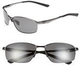 Nike Men's 'Avid' 57Mm Sunglasses - Black