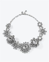White House Crystal Flower Necklace