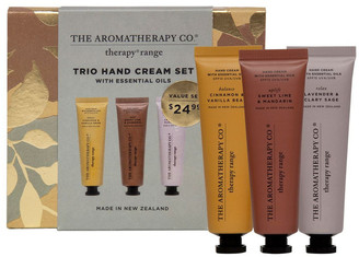 The Aromatherapy Company Therapy Trio Hand Cream Set 3x 30ml- Uplift, Relax,