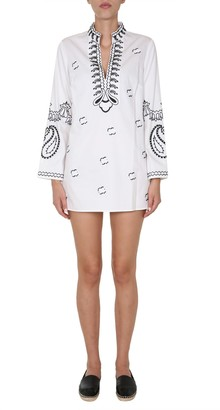 Tory Burch Embroiderd Tunic