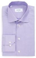 Eton Men's Slim Fit Geometric Dress Shirt