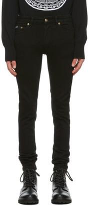 Versace Jeans Couture Black Five-Pocket Jeans