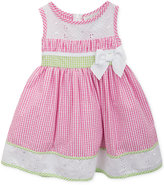 Rare Editions Gingham Eyelet Dress, Little Girls (2-6X)