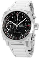 Oris BC4 67476164154MB Stainless Steel Chronograph Automatic 42.7mm Mens Watch