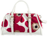 Dolce & Gabbana Leather-Trimmed Printed Satchel