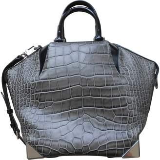 Alexander Wang Emile Grey Leather Handbags