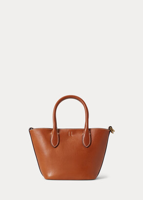 Ralph Lauren Leather Mini Bellport Tote