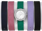 Laura Ashley Women's LA31012 Analog Display Japanese Quartz Multi-Color Watch Set