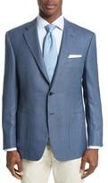 Canali Men's Siena Classic Fit Silk & Wool Blazer