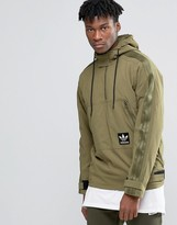 adidas Brand Pack Pull Over Hoodie In Green AY9293