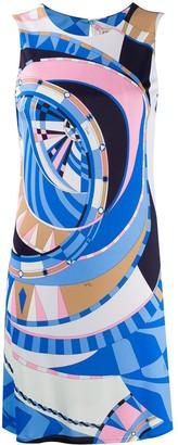 Emilio Pucci Wally print mini dress