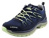 Lowa Innox Evo Gtx Lo Women Round Toe Canvas Blue Hiking Shoe.