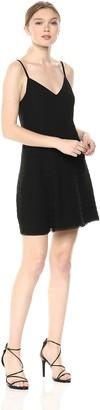 Ali & Jay Women's Elevated Sleeveless FIT & Flare Ruffle Mini Party Dress