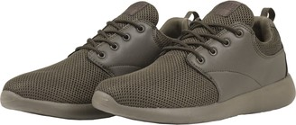 Urban Classics Light Runner Shoe Unisex Adult Training Shoes Green Size: 37 EU (4 UK)