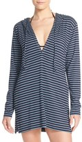 Tommy Bahama Women's Stripe Hoodie Cover-Up