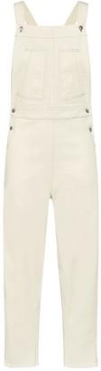 Theavant Denim Jumpsuit In Off-White