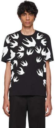 McQ Black Swallow Signature T-Shirt