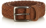 Anderson's Woven-suede Belt