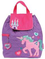 Stephen Joseph Unicorn Quilted Backpack in Pink