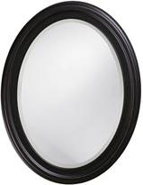 25 in. x 33 in. Oil Rubbed Bronze Round Framed Mirror