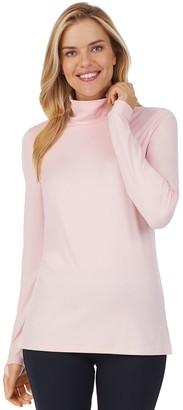 Cuddl Duds Women's Far-Infrared Enhance Long Sleeve Funnel Neck Top