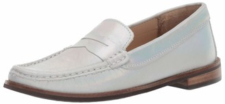 Marc Joseph New York Kids' Leather Boys/Girls Casual Comfort Slip On Moccasin Penny Loafer Driving Style