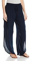 Lucy-Love Lucy Love Women's Scallop Pant